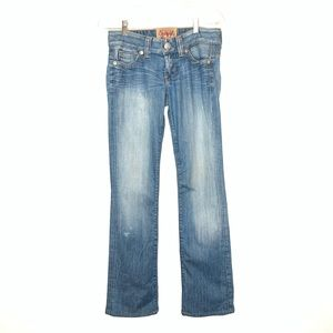 Guess Premium Jeans Bootcut Low Waist Cowgirl 27
